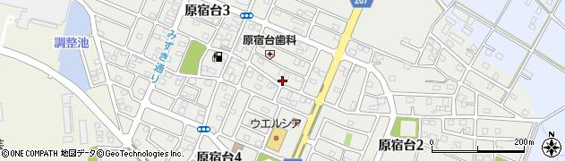 茨城県五霞町(猿島郡)原宿台周辺の地図