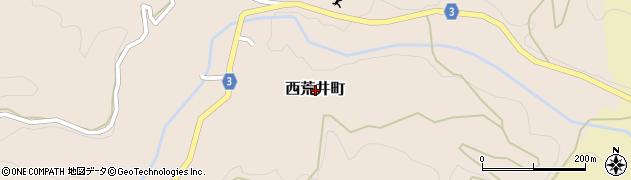 福井県福井市西荒井町周辺の地図