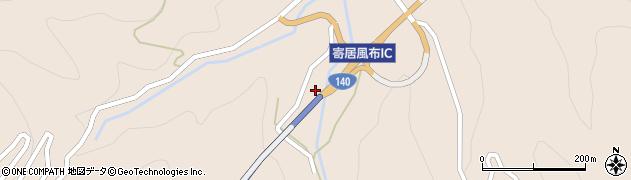 皆野寄居道路周辺の地図