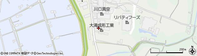 大滝成形工業株式会社 茨城工場周辺の地図
