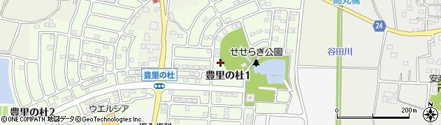 茨城県つくば市豊里の杜周辺の地図