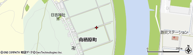 福井県福井市南楢原町周辺の地図