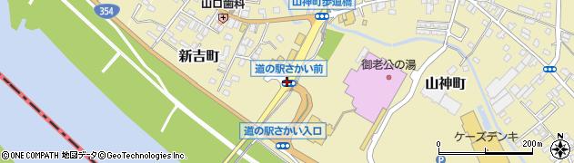 道の駅さかい前周辺の地図