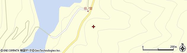 長野県松本市奈川(田ノ萱)周辺の地図