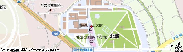 国土交通省国土地理院 基本図情報部地図情報技術開発室周辺の地図