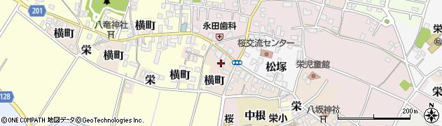 塚田生産農場周辺の地図