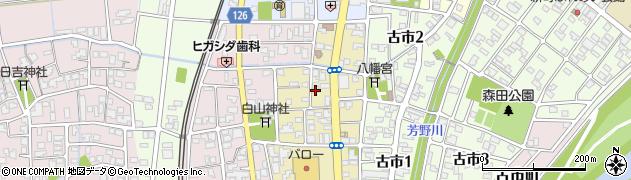 福井県福井市八重巻東町周辺の地図