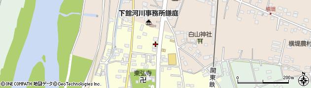 茨城県常総市大房周辺の地図