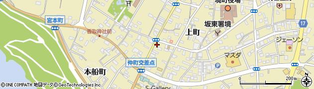 内海際物店周辺の地図