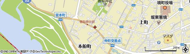 茨城県猿島郡境町1731の地図 住所一覧検索|地図マピオン