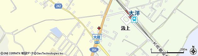 カタバミ理容店周辺の地図