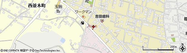 オーロックサービス周辺の地図