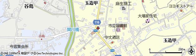 たざわ周辺の地図