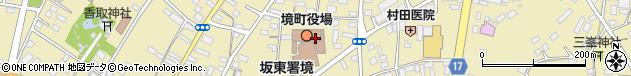 茨城県猿島郡境町周辺の地図