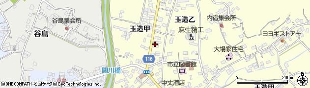 玉造ブックセンター周辺の地図
