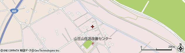 茨城県五霞町(猿島郡)山王山周辺の地図