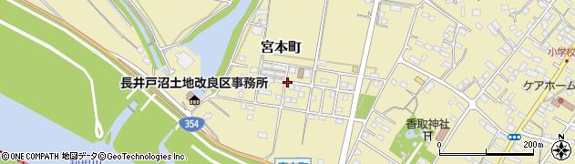 茨城県境町(猿島郡)宮本町周辺の地図