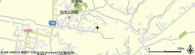 茨城県行方市玉造(乙)周辺の地図