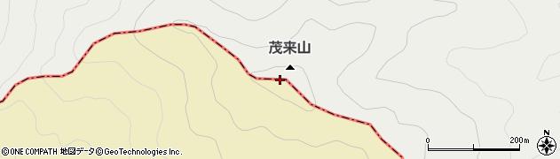 茂来山周辺の地図