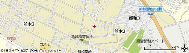 ベル洋菓子店周辺の地図