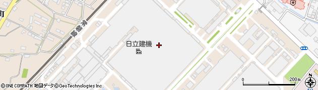 株式会社日京クリエイト 日立建機土浦事業所周辺の地図
