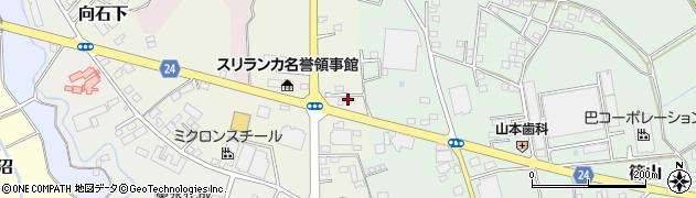有限会社カネミズ商事周辺の地図