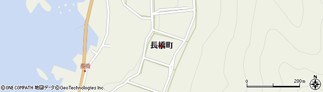 福井県福井市長橋町周辺の地図