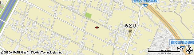 茨城県土浦市並木周辺の地図