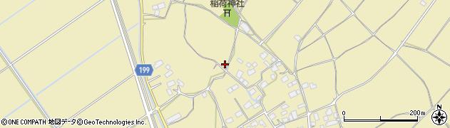 茨城県土浦市上坂田周辺の地図