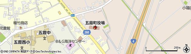 茨城県猿島郡五霞町周辺の地図