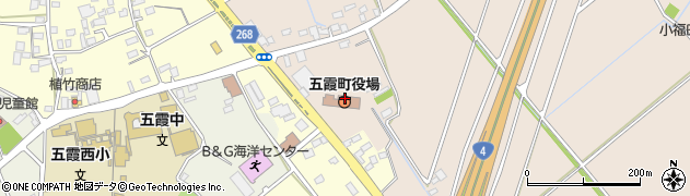 茨城県五霞町(猿島郡)周辺の地図
