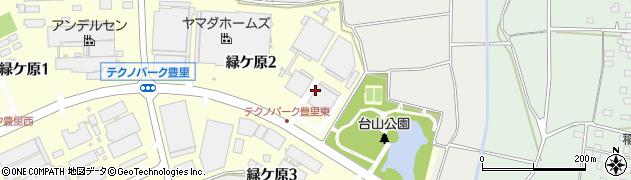 オルガノ株式会社 つくば工場周辺の地図