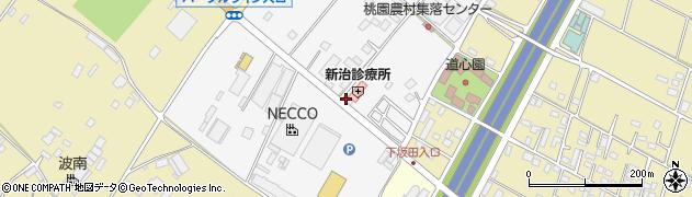 桃園薬局周辺の地図