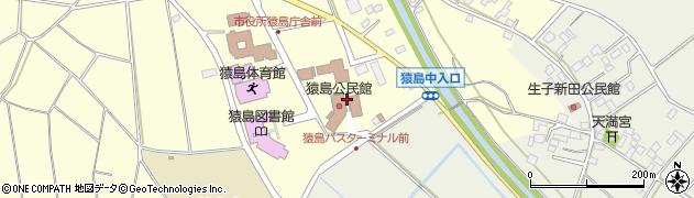 坂東市役所 さしま窓口センター周辺の地図