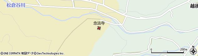 飛騨高山念法寺周辺の地図