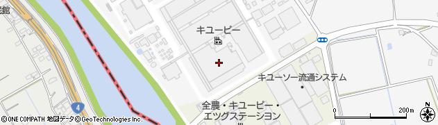 キューピー株式会社 五霞工場周辺の地図