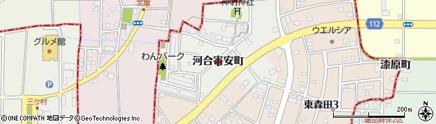 福井県福井市河合寄安町周辺の地図