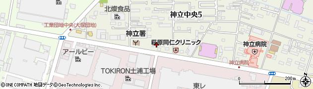 有限会社今見屋パン店周辺の地図