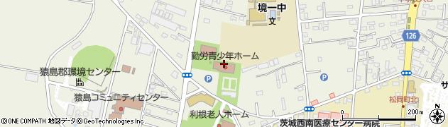 境町役場 勤労青少年ホーム周辺の地図