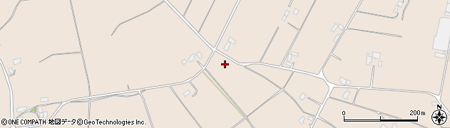 茨城県行方市小貫周辺の地図
