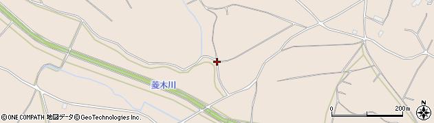 茨城県かすみがうら市宍倉周辺の地図