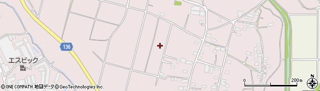 茨城県常総市杉山周辺の地図