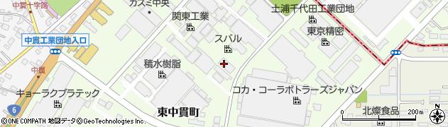 株式会社関東工業周辺の地図