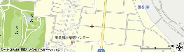 茨城県つくば市田倉周辺の地図