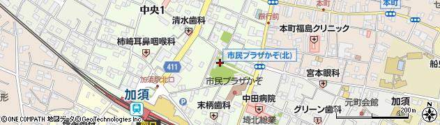 千方神社周辺の地図