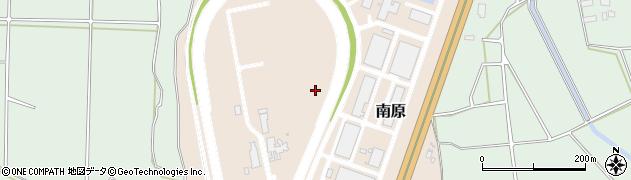 茨城県つくば市南原周辺の地図