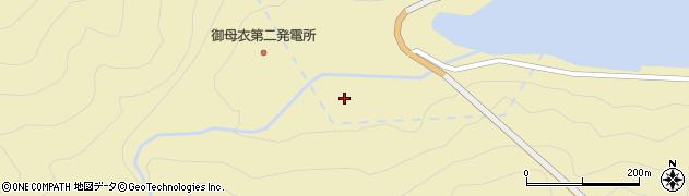 岐阜県白川村(大野郡)福島周辺の地図