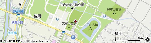 天祥寺周辺の地図