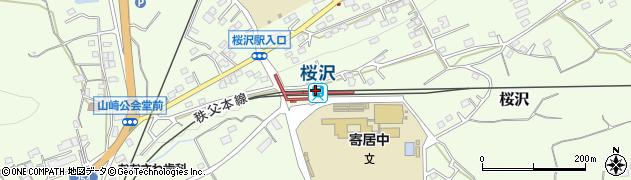 埼玉県大里郡寄居町周辺の地図