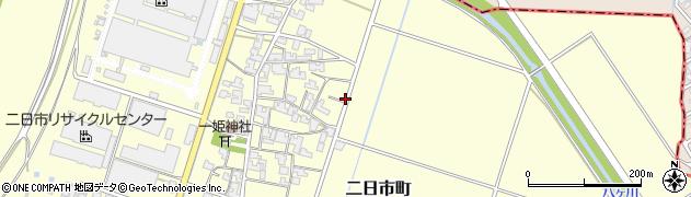 福井県福井市二日市町周辺の地図
